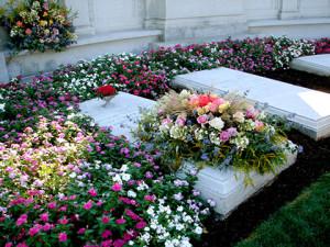 Hershey Cemetery image - 150th birthday celebration for Milton S. Hershey